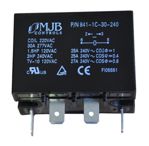 841-1C-30-240 Heavy Duty / High Current Relay