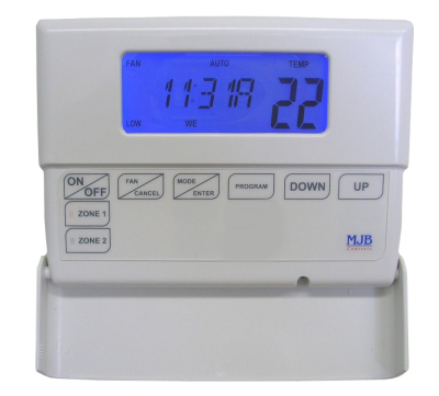 7 Day Programmable Thermostat Controller with Zone Control